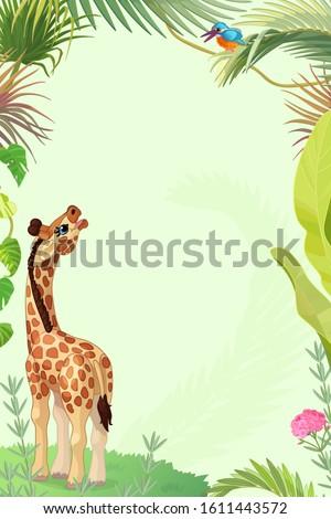 vector cartoon festive card