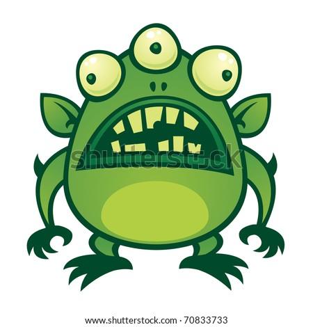 Alien Monster Cartoons