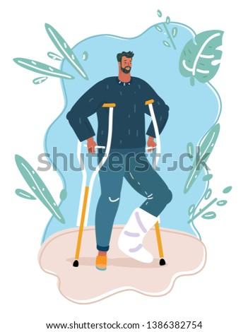 vector cartoon illustration of