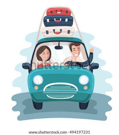 vector cartoon illustration of