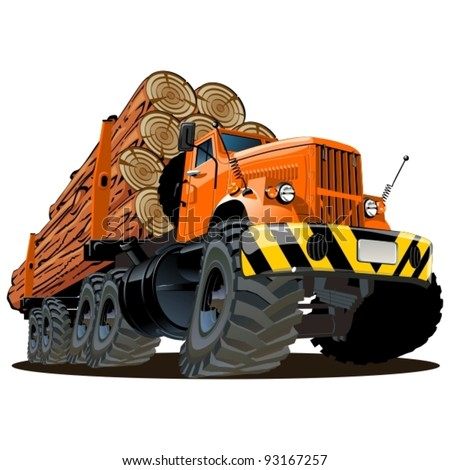 Logging equipment clipart
