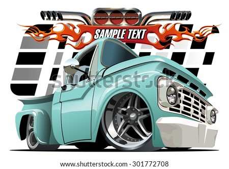 stock vector vector cartoon lowrider available eps separated by groups and layers with transparency effects 301772708 - Каталог — Фотообои «Для детской»