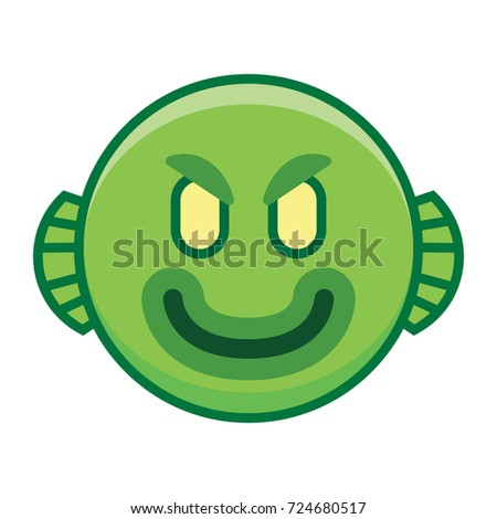 vector cartoon monster emoji