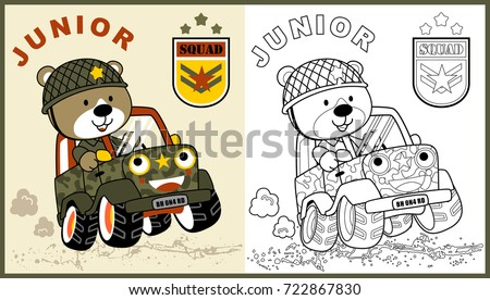 vector cartoon of animal