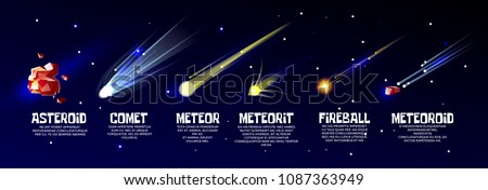 vector cartoon outer space