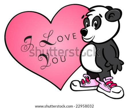 in love with you cartoons. stock vector : vector cartoon