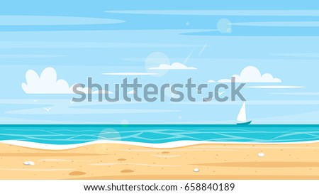 vector cartoon style background