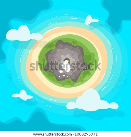 vector cartoon style background