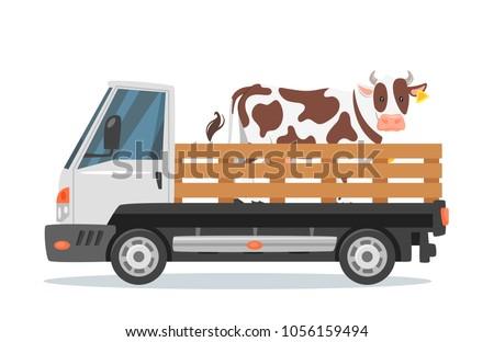 vector cartoon style farmers
