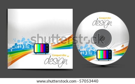 dvd cover design template. cd cover design template