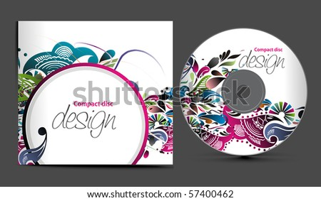 cd cover design download free vector art stock graphics images