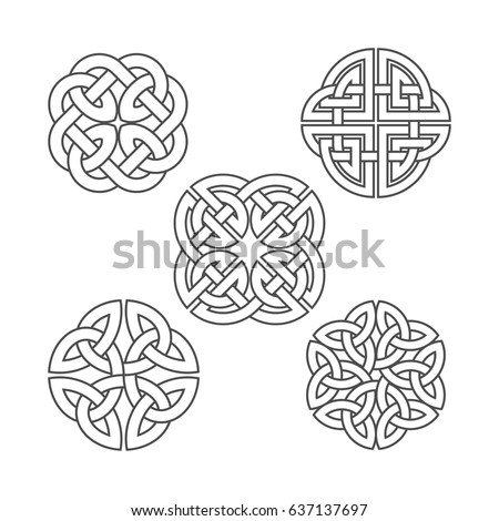 vector celtic knot ethnic
