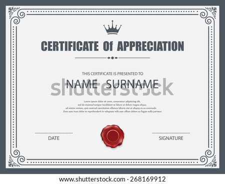 Certificate border design 123freevectors premium vectors sponsored results by shutterstock free sample pack yelopaper