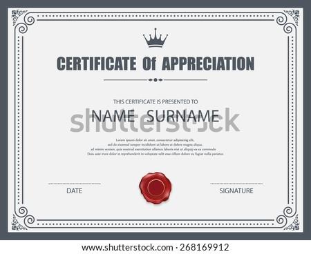 certificate border vector download free vector art