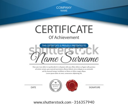 50 certificate template vectors download free vector art premium vectors sponsored results by shutterstock free sample pack yadclub Choice Image
