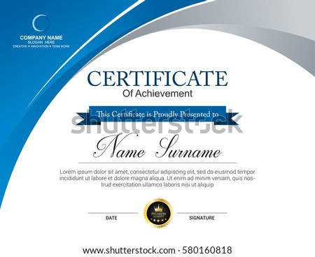 premium vectors sponsored results by shutterstock - Certificate Templates