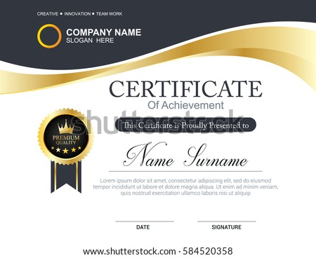 certificate template download free vector art stock graphics images
