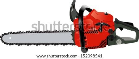 vector chainsaw   petrol chain