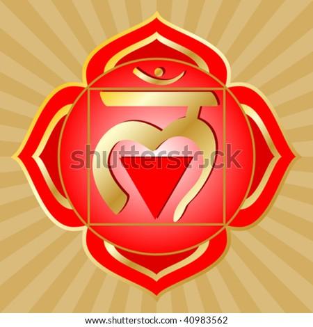 vector chakra series  muladhara ...