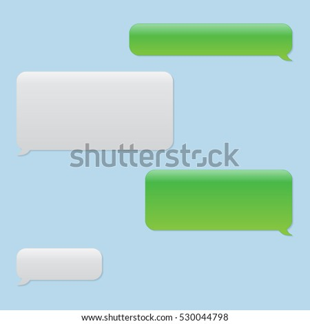 Vector Chat Bubbles