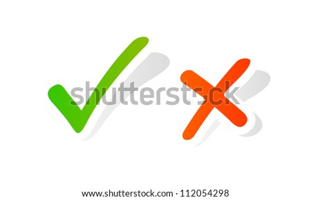 Vector check mark graphic