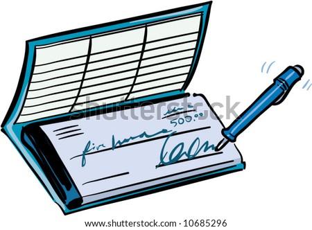 blank check register. a checkbook register.
