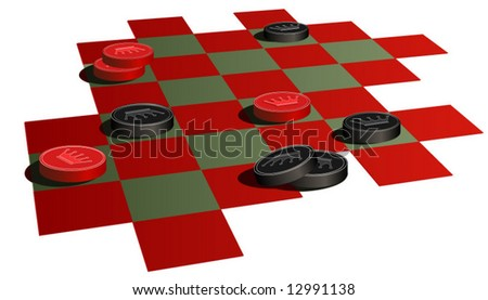 vector checkers game