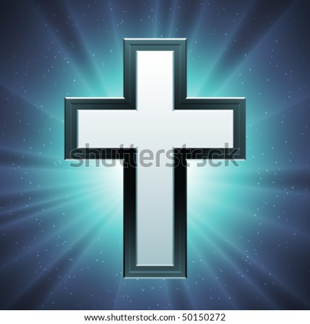 christian cross wallpaper. Vector Christian Cross