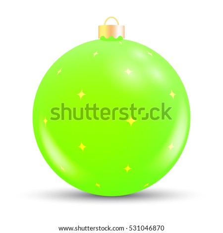 vector christmas bauble