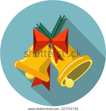 vector christmas bells