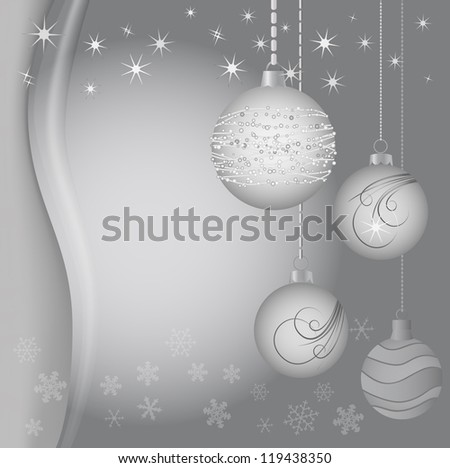 Vector Christmas decoration - Christmas ball
