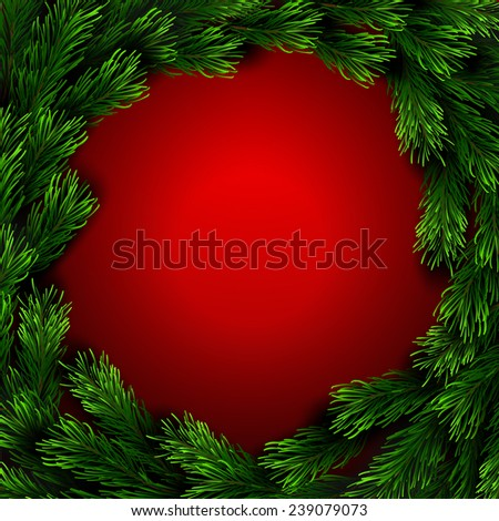 Vector Christmas Greeting Card Happy new year xmas #239079073