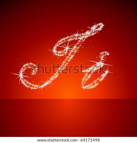 Vector christmas  illustration of a shining stars character i