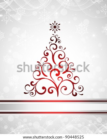 vector Christmas / New Year design