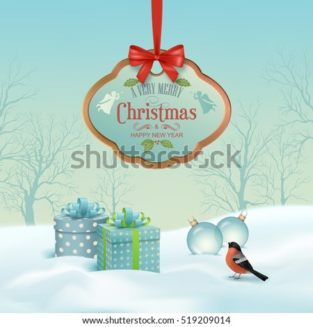 vector christmas winter