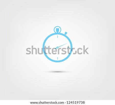 vector chronometer icon