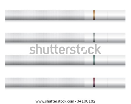 vector cigarettes - white filters