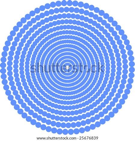 Vector. Circle based texture 2