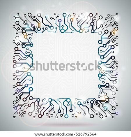 vector circuit board frame