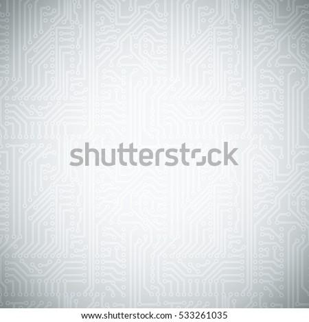 vector circuit board pattern