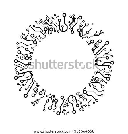 vector circuit circle