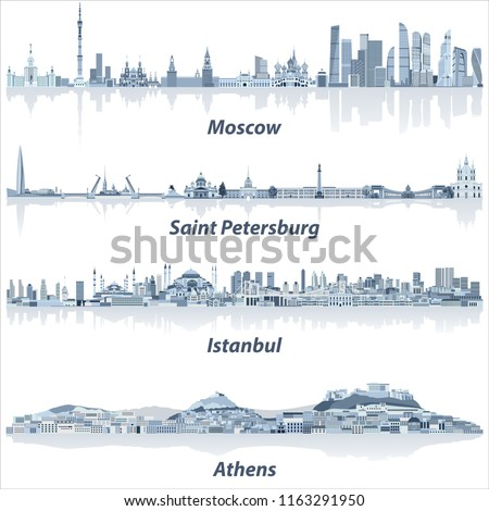 vector cities skylines of