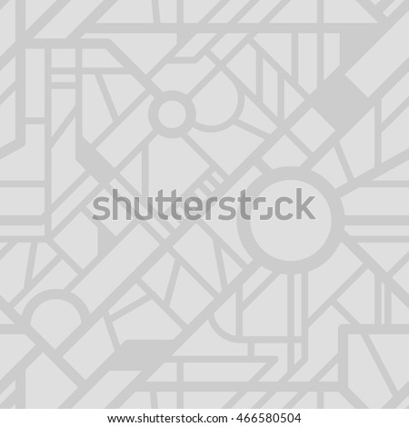 Vector city map pattern. Seamless roads background. Urban texture for your design. #466580504