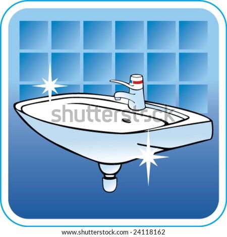 Vector Clean Sink 24118162 Shutterstock