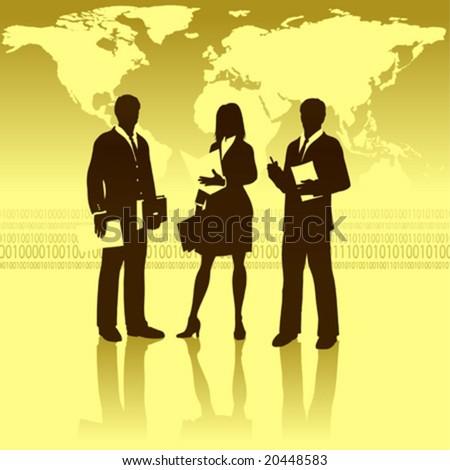 cooperation clipart. stock vector : vector clip art