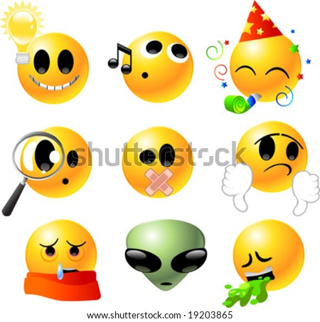 cartoon pictures of smiley faces. of emoticon Smiley face