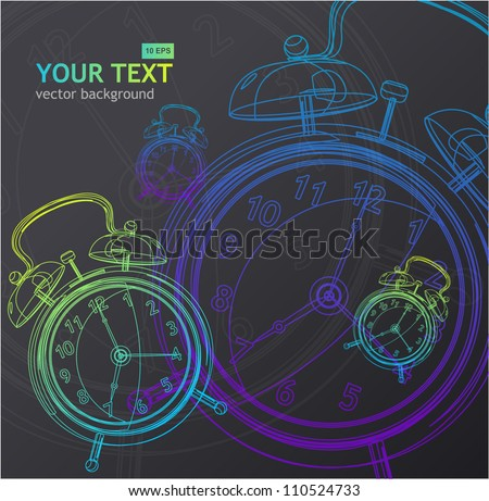 Vector clock background