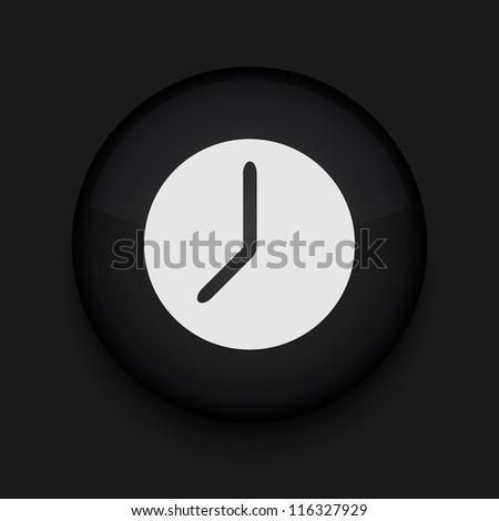 Vector clock icon. Eps10. Easy to edit