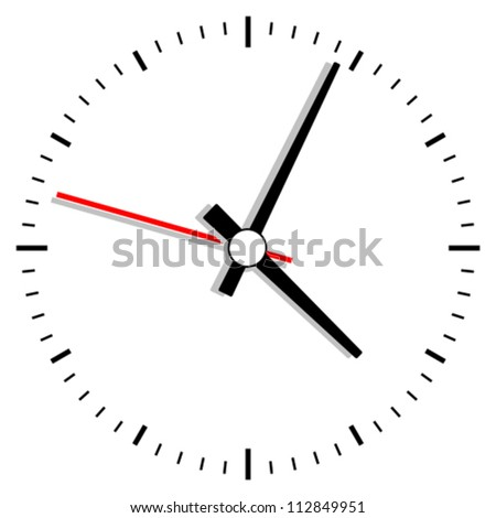 Vector clock illustration
