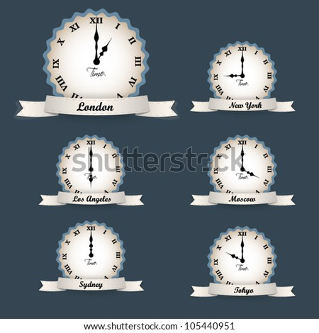 Vector clocks - time zones